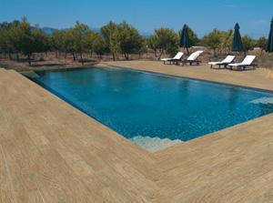 D coration de la maison pose parquet exterieur piscine for Carrelage autour piscine