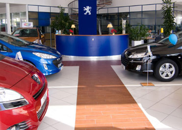 carrelage garage