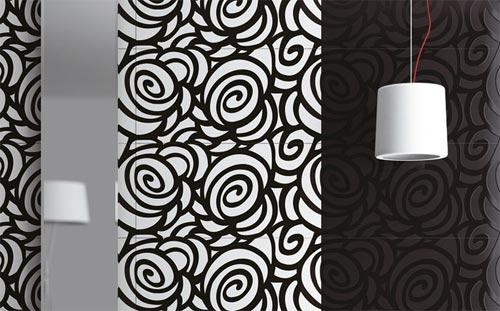 Carrelage mural : série Lumina de Zirconio