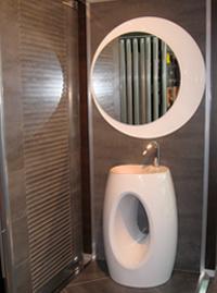 Accessoires salle de bains nimes - Miroir ovale salle de bain ...