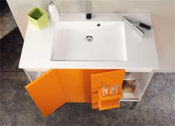 éléments et meubles de salle de bains