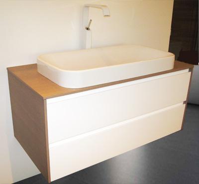 Meuble de salle de bains One en expo chez Mouton Carrelages à Nîmes
