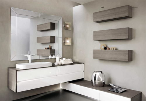 Meuble de salle de bains One d'Isabagno
