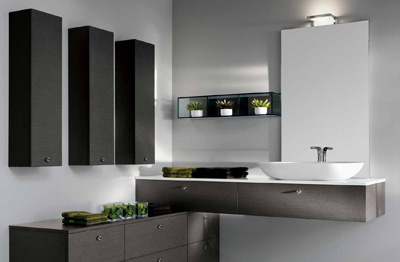 meuble salle de bain haut de gamme italien. Black Bedroom Furniture Sets. Home Design Ideas